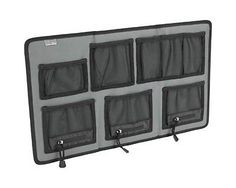 Lockdown Hanging Organizier, Large Gun Safes & Accessories 222-168 by Unknown. $32.99. The Large Hanging Organizer is perfect for organizing all the loose items that tend to clutter the shelves of a vault. With a variety of pocket sizes and configurations it will easily hold handguns, knives, electronics, jewelry or a just about any other small valuables. The three larger pockets feature zippers that can be opened to allow a handgun barrel to protrude through or closed to cont...