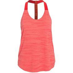 Nike Elastika Htr Tank ($45) ❤ liked on Polyvore featuring activewear, activewear tops, mango, sports fashion, vests, womens-fashion, nike sportswear, nike and nike activewear
