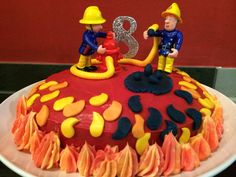 Feuerwehrmann Sam Kuchen Henri Pinte