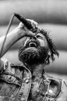 Jason Aalon Butler of Letlive. shot by Tayler Aubin