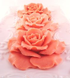 Autumn Roses Soaps  5 by pamperedmoments on Etsy, $24.95