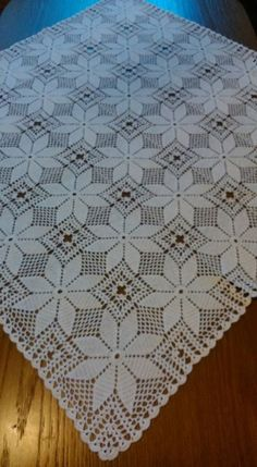 Diy Crafts - -Crochet lace pattern tablecloth granny squares 27 New Ideas crochet Crochet Pillow Patterns Free, Crochet Bedspread Pattern, Crochet Tablecloth Pattern, Crochet Lace Edging, Granny Square Crochet Pattern, Crochet Squares, Thread Crochet, Filet Crochet, Crochet Doilies