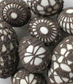 Eieren omhaken | draadenpapier | Gratis patronen