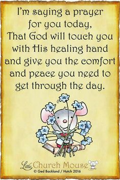 Lord give me the strength and happiness to start another day.