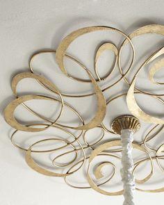 Gold Scroll Ceiling Medallion neimanmarcus.com