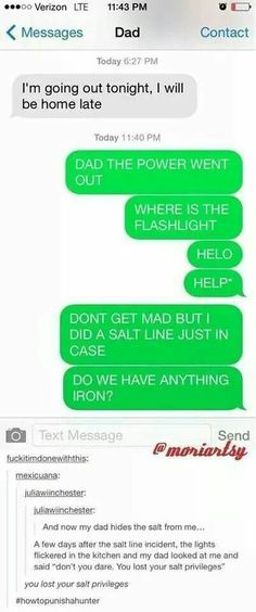 """""""You lost your salt privileges"""" XD"""