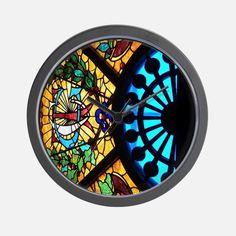 STAUG Glass Wall Clock for