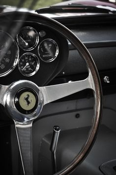 Inside a Classic Ferrari