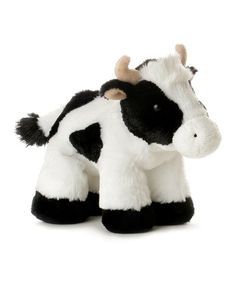 The Aurora Mini Flopsie - Mini Moo Cow is soft and cuddly plush with some beanies and in a lying position. Teddy Bear Toys, Bunny Plush, Cat Sleeping, Bird Toys, Baby Play, Dog Toys, Aurora, Stuffed Animals, Stuffed Cow