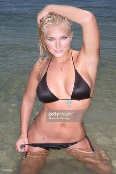 Brooke Hogan star of VH1 reality show 'Brooke Knows Best' poses on June 22, 2008 in Miami, Florida.