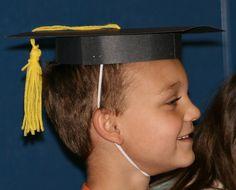 How to Make Kindergarten Graduation Caps