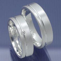Verlobungsringe Freundschaftsringe 925 Silber mit Zirkonia P6226786