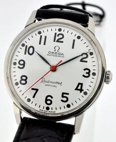 Vintage Omega Railmaster Big Watches, Cool Watches, Omega Railmaster, Armani Watches For Men, Vintage Omega, Watch Companies, Tic Tac, Knifes, Watches