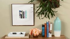 Learn how to make your own mat for framed artwork in just a few easy steps with this tutorial./