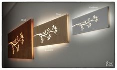 WALL LIGHT PANEL - silhouette cnc template cutting file -lighted floating wall panel - plasma cut- Home Design Idea, svg cutting files laser False Ceiling For Hall, False Ceiling Living Room, False Ceiling Design, Cnc, Diy Interior, Home Design, Wall Light Panels, Autocad, Adobe Illustrator
