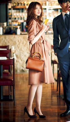Great Style Inspiration Begins With These Ideas – Designer Fashion Tips Ol Fashion, Korean Fashion Dress, Japan Fashion, Office Fashion, Modest Fashion, Womens Fashion, Fashion Tips, Fashion Design, Fashion Ideas