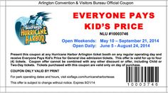 six flags coupons Hurricane Harbor eveyone pays kids price coupon