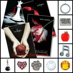 Twilight Fan Locket - South Hill Designs Locket