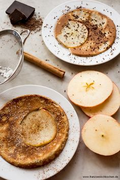 Crêpes aux pommes (crepes with apples) baking fruehstueck kids snacks and-small-dishes vesper French Cooking by Aurélie Bastian