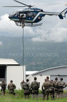 #gendarme #gendarmerie #GPI #SAG #helicordage #helicoptere #militaire #forcesarmees #armes #lareunion