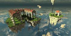 Azeroth – The Air Temple   Minecraft Building Inc
