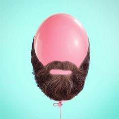 The funny and offbeat creations of Mexican graphic designer Paul Fuentes, based in Mexico City, who enjoys staging everyday objects into surreal and colorf Arte Pop, Photomontage, Paul Fuentes, Pose Portrait, Sketch Manga, Beard Tips, Poster S, Everyday Objects, Conceptual Art