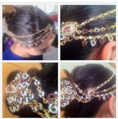 #desiwedding #headpiece #jewelry