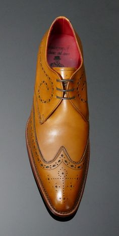 b8575707e65 Brilleaux - Wing Gibson Cedar Tan Calf   Jeffrey West Tan Shoes