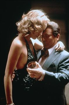 CASINO - Joe Pesci dances with Sharon Stone - Directed by Martin Scorsese - Universal - Publicity Still.