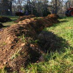 On building and planting a hugelkultur
