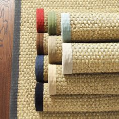 Seagrass rug from Ballard Designs. They are great for dining rooms and  generally