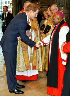 Prince Harry and Desmond Tutu
