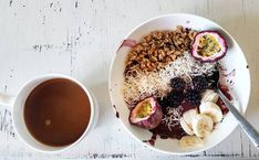 Fave meal of the day 💕 I finally moved from a blender to a food processor and it's life changing. Recipe Of The Day, Life Changing, Acai Bowl, A Food, Food Processor Recipes, Meals, Breakfast, Acai Berry Bowl, Morning Coffee