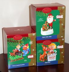 Carlton Cards Rudolph the Red Nosed Reindeer Christmas Ornaments Bright Ideas Jingle Brightest Yukon