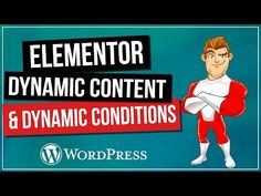 Elementor Dynamic Content – Conditional Logic with Dynamic Conditions Plugin (FREE). When it comes to Dynamic Content with Elementor, the ability to use … source Learn Wordpress, Wordpress Plugins, Conditioner, Things To Come, Content, Learning, Platform, Youtube, Free