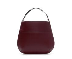 Image 1 of LIMITED EDITION.LEATHER TOTE SHOPPER from Zara