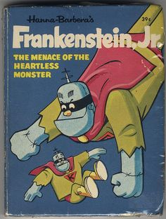 Frankenstien Jr Big Little Book    From 1968