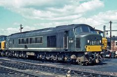 Railway Herald :: Imaging Centre :: at Gloucester Horton Road MPD Electric Locomotive, Diesel Locomotive, Gloucester England, Best Wagons, Abandoned Train, Britain Uk, Train Pictures, British Rail, Old Trains