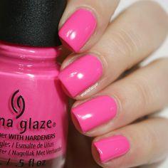 China Glaze I'll Pink To That
