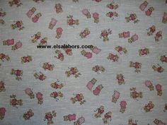 Tela de lino 100% estampada, la encontrareis en http://elsalabors.com/shop/es/