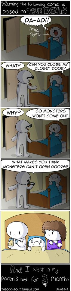 True story about monsters in the closet