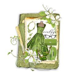Vintage, created by nuria-pellisa-salvado on Polyvore