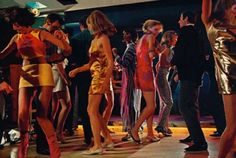 A 1960s Swinging London party