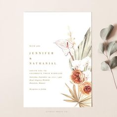 Modern and unique Wedding Invitations Framed Wedding Invitations, Destination Wedding Invitations, Wedding Invitation Design, Wedding Stationary, Orchid Wedding Invitations, Wedding Card Design, Wedding Frames, Wedding Cards, Wedding Ideas