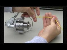 ▶ How to spool a spinning reel - YouTube