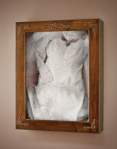Need to make this! hopefully to match my bouquet shadow box table. Also, one to fit and display Jake's Dress Blues.