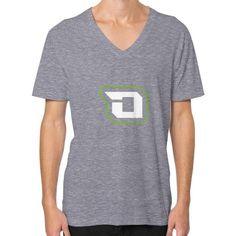 Di3seL Logo Mark Shirt V-Neck (on man) Shirt