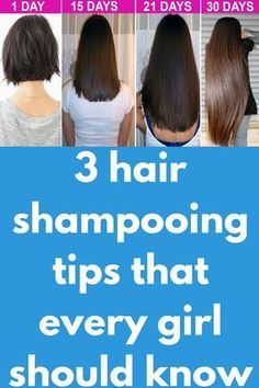 3 hair shampooing tips that every girl should know Today in this post I will share with you amazing hair care tips which is very helpful to get superfast long hair, soft hair, smooth hair and dandruff free hair. Friends this is the really hair care life h Natural Hair Care, Natural Hair Styles, Long Hair Styles, Hair Growth Tips, Hair Care Tips, Professional Hair Straightener, Long Hair Tips, Hair Conditioner, Free Hair