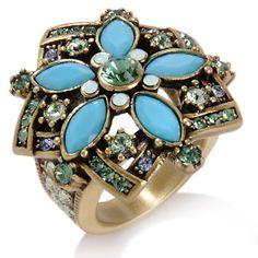 "Heidi Daus ""Breathless"" Crystal Ring at HSN.com."