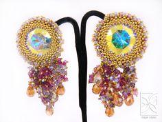 Handmade earrings by Edgar Lopez